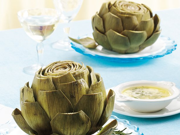 Image of Artichokes With Rosemary Sauce, Betty Crocker
