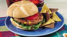 Green Chile-Bean Burgers Recipe