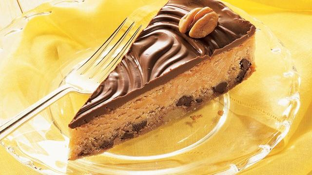 Chocolate-Peanut Butter Cookie Pie