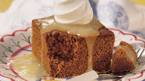 Old-Fashioned Gingerbread recipe from Betty Crocker