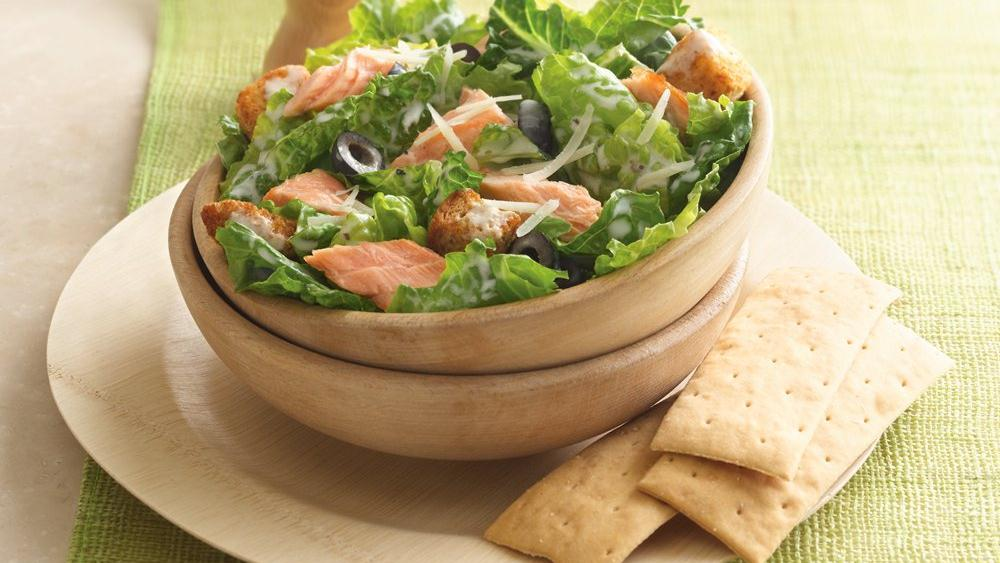 Grilled Salmon Caes