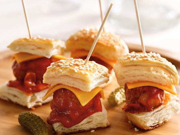 Meatball Mini Burgers