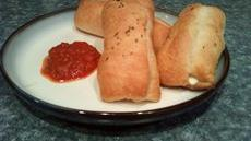 mini  pizza cheese steak stromboli's Recipe