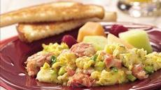Salmon Scrambled Eggs Recipe