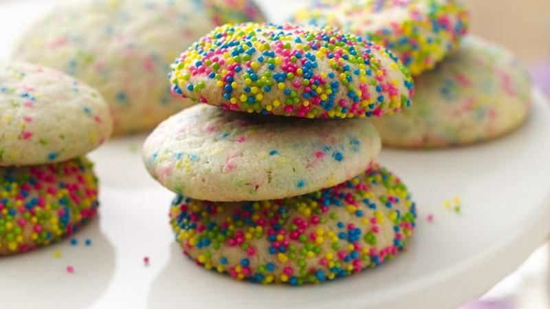 Birthday Confetti Cookies