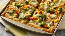 White Bean Sausage and Veggie Pizza Recipe