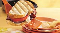 Toasted Beef and Mozzarella Sandwiches Recipe