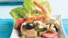 Mediterranean Shrimp Antipasto Recipe