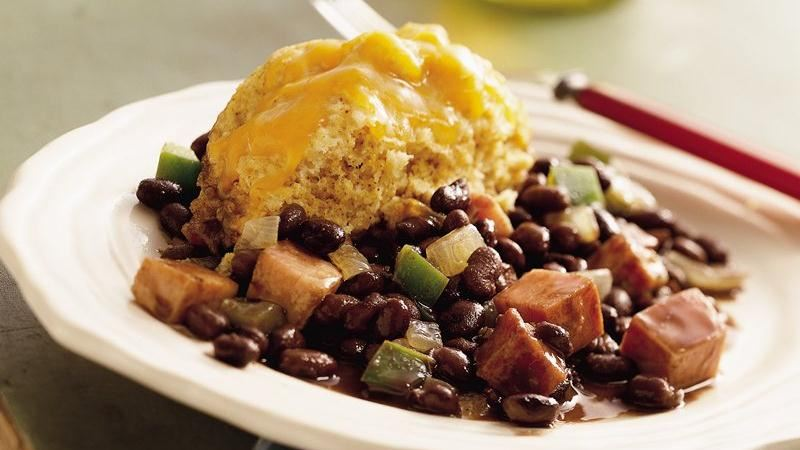 Black Beans and Ham