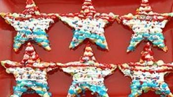 Trix Crispie Star Bars