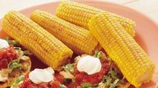 Grilled Corn-On-The-Cob with Spicy Butter Recipe
