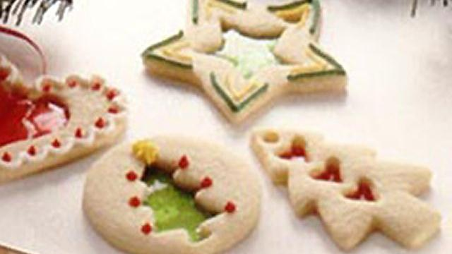 Poppin' Fresh Stained Glass Cookies