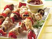 Grilled Pizza Chicken Kabobs