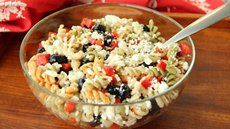Red, White and Blueberry Pasta Salad Recipe