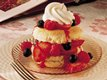 Three-Berry Shortcakes