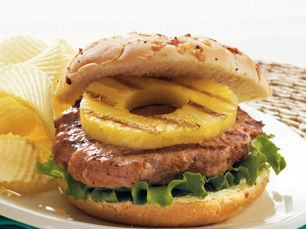 Pineapple Pork Burgers