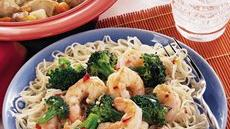 Shrimp and Broccoli Lo Mein Recipe