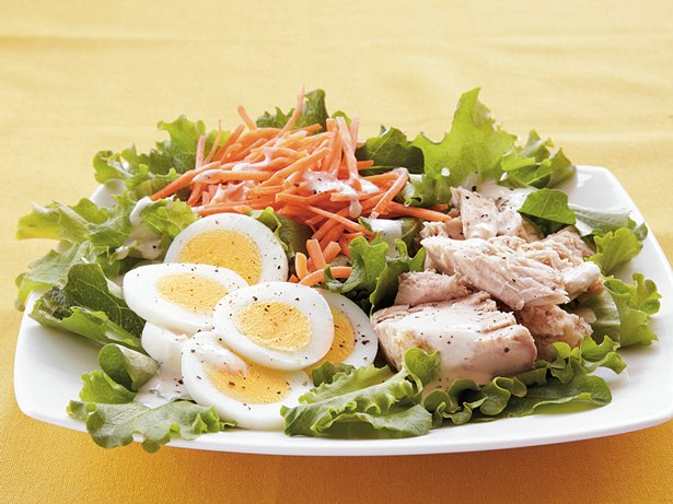 Tuna Chefs Salad