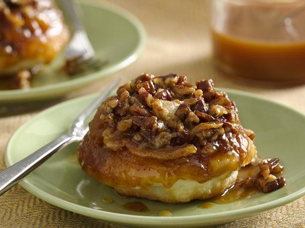 Gooey Caramel Apple Rolls for Two