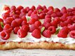 Raspberry and Meringue Flatbread