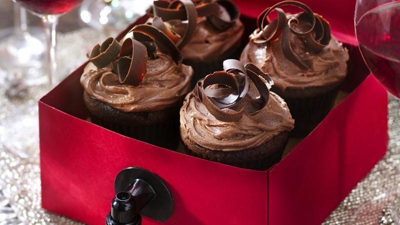 Zinfandel Wine Cupcakes