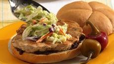 Pork Barbecue and Coleslaw Sandwiches Recipe