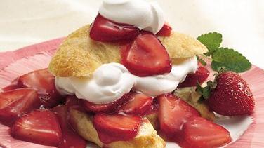 Crescent Strawberry Shortcake