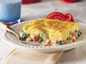 Ham&#32;and&#32;Broccoli&#32;Cheese&#32;Pot&#32;Pie