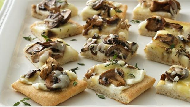 Wild Mushroom Pizza