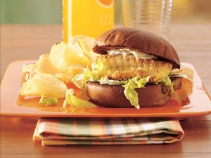 Lemon-Pepper&#32;Fish&#32;Fillet&#32;Sandwiches