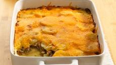 Potato and Ground Beef Gratin Recipe