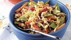 Peanut-Vegetable Salad Recipe