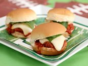 Mammas Meatball Parmesan Sliders