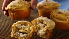 Grands! Honey-Walnut Filled Muffins Recipe