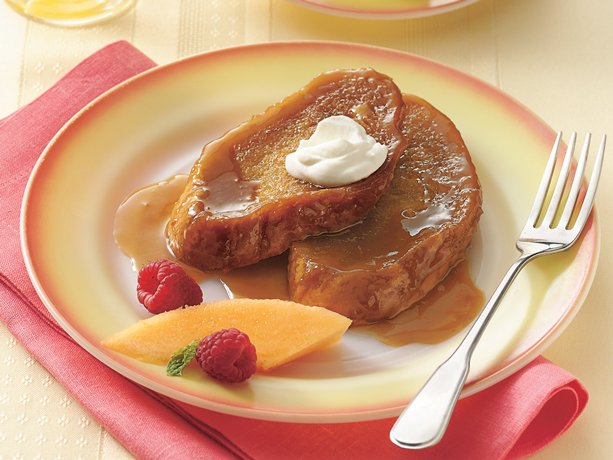Baked Caramel French Toast