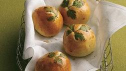 Fresh Herb Topped Rolls