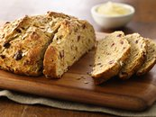 Five-Grain Buttermilk-Cranberry Bread (White Whole Wheat Flour)