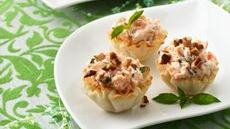 Smoked Salmon Cheese Cups Recipe