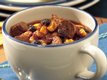 Slow Cooker Spicy Southwest Beef and Bean Chili