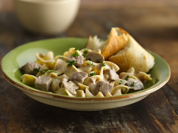 Slow Cooker Beef Stroganoff Stew