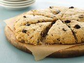 Buttery Cherry-Chip Scones (White Whole Wheat Flour)