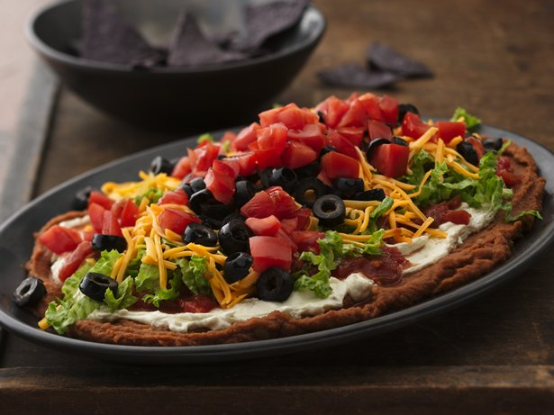 Seven-Layer Bean Dip recipe from Betty Crocker