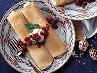 Cardamom Cream Crepes