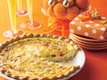 Provolone and Pesto Quiche
