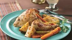 Herb and Garlic Chicken and Vegetables Recipe