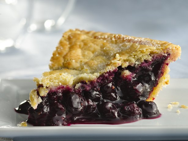 Gluten Free Blueberry Pie with Cornmeal Crust