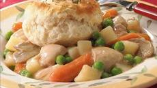 Slow-Cooked Chicken and Vegetable Pot Pies Recipe