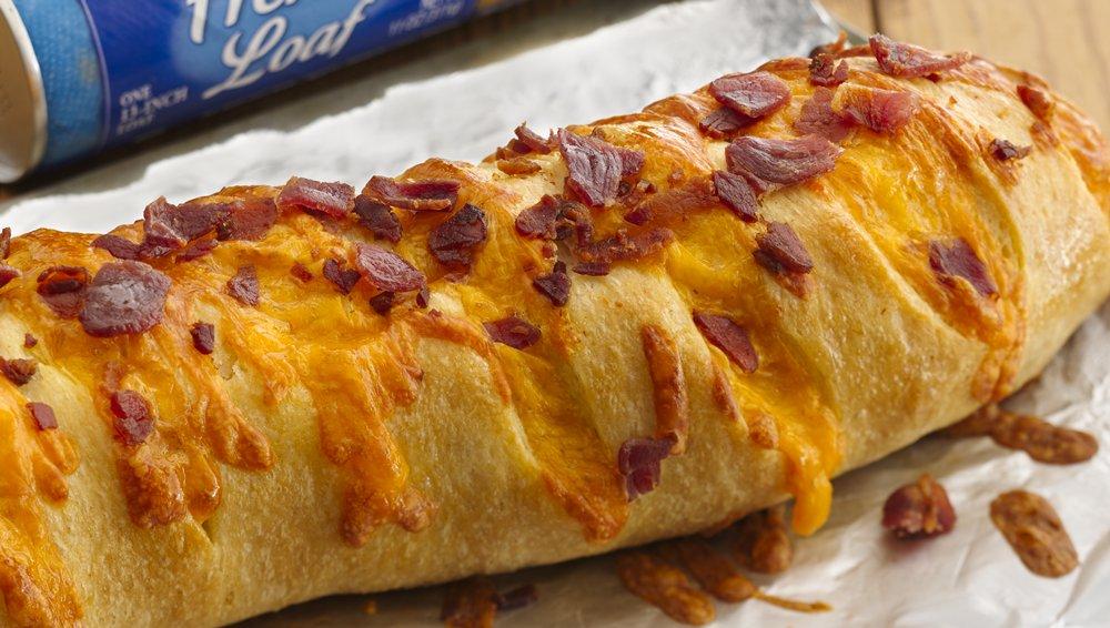 Bacon Cheddar French Loaf
