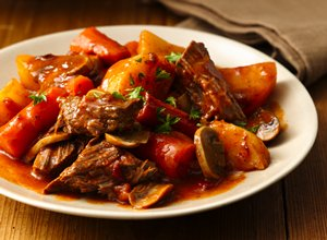 Slow-Cooker Fire Roasted Tomato Pot Roast
