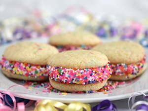 Birthday Cake Whoopie Pies